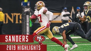 Emmanuel Sander's Best Plays | 2019 Season | 49ers