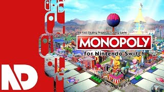 [Monopoly for Switch] First Look