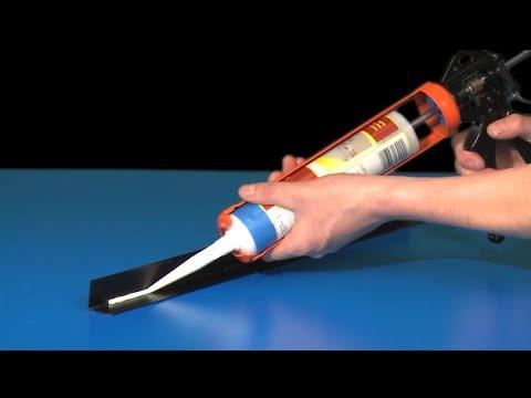 Как пользоваться пистолетом для герметика