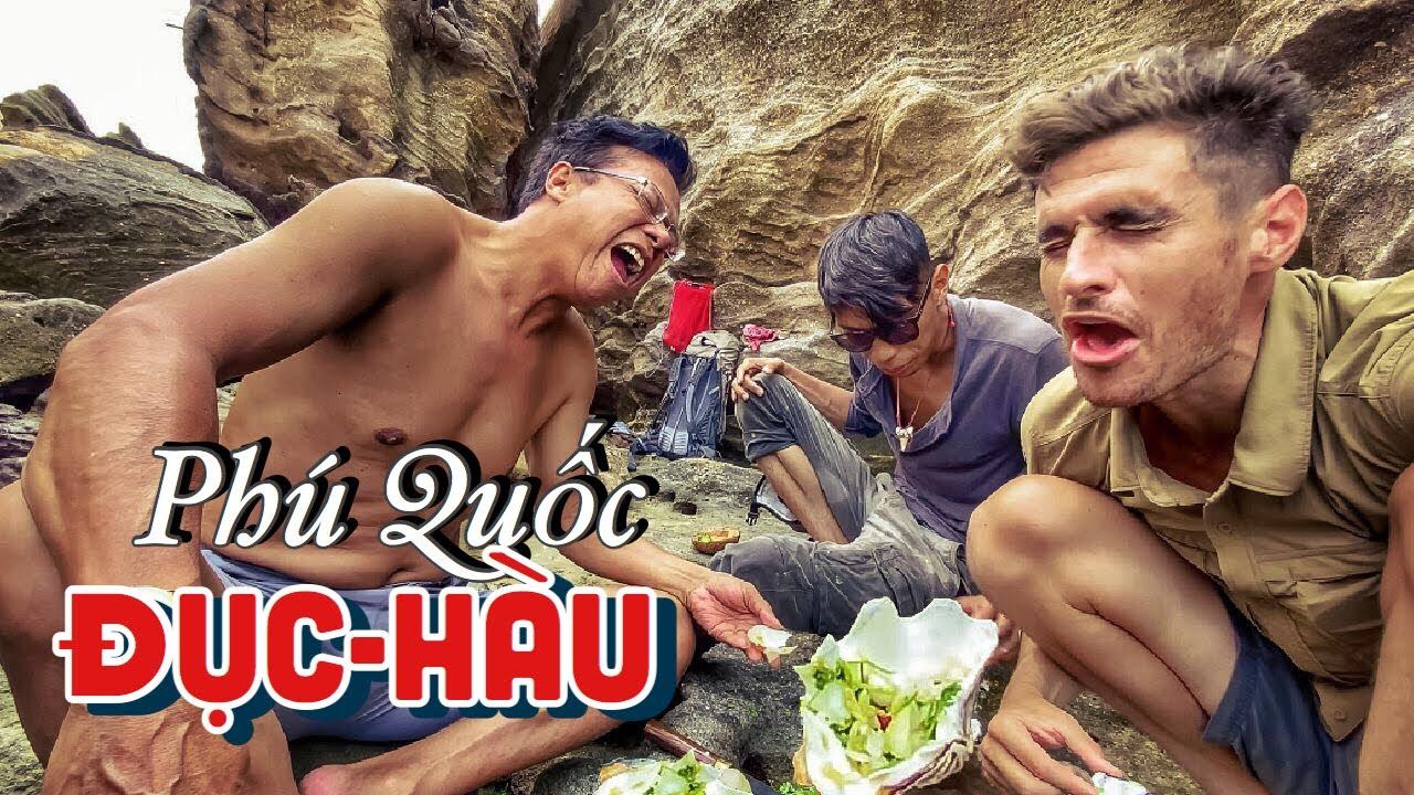 CATCH and COOK OYSTERS! EATING 3 WAYS! | Video cuối ở Phú Quốc: Đục và Nấu Hàu 3 Món!