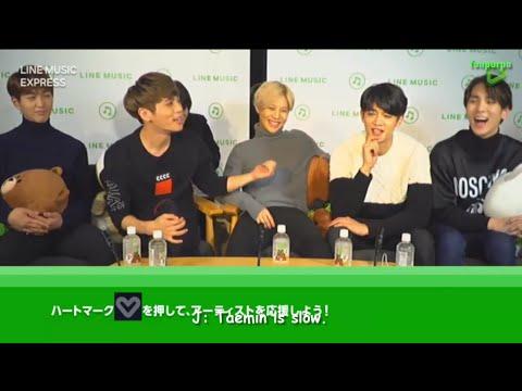 [ENG] 151214 SHINee LINE Music Express