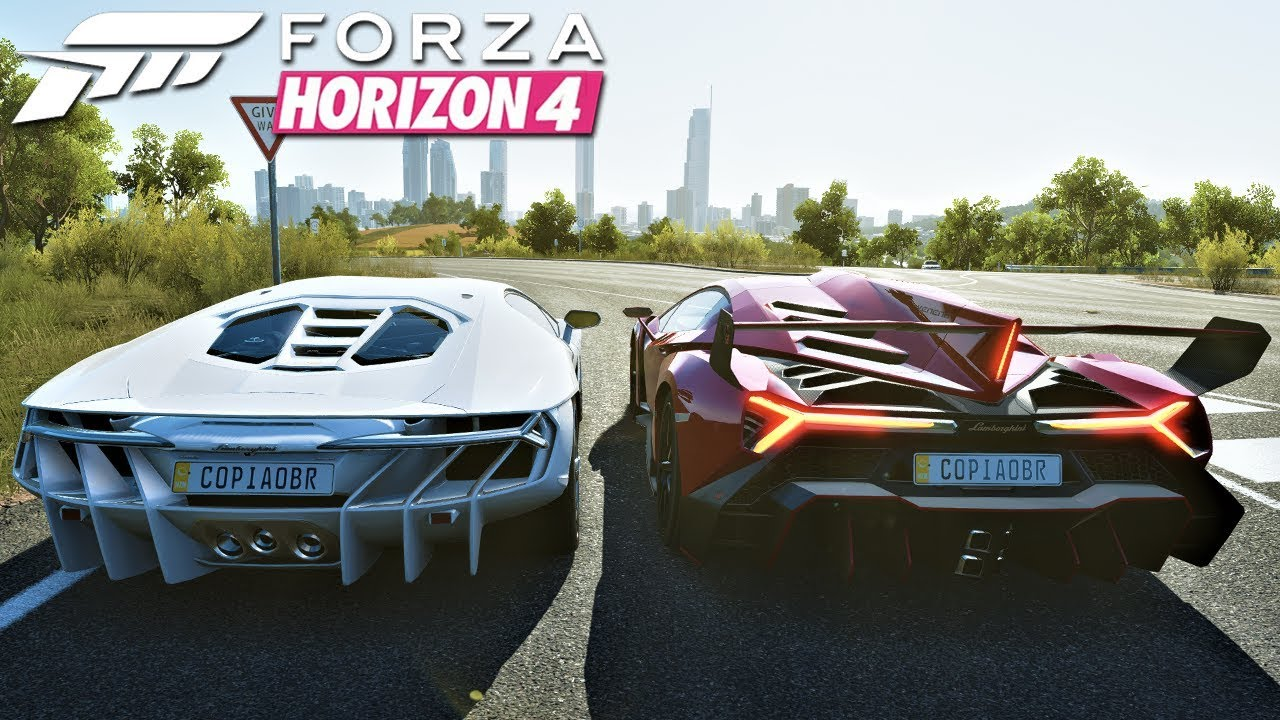 Forza Horizon 4 Aquecimento Lamborghini Centenario Vs Lamborghini