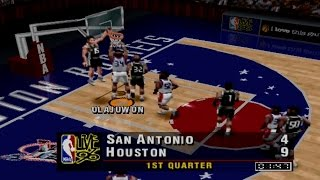 NBA Live 96 Gameplay Exhibition Match (PS1,PSX,PsOne)