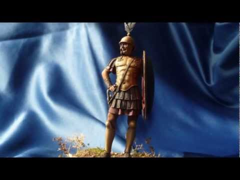 Pegaso Models Roman Tribune 3rd Century B.C. in 75mm scale