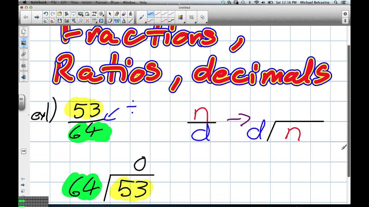 Worksheet Turning A Fraction Into A Decimal turning fractions into decimals grade 8 nelson chapter 2 11 3 12 12
