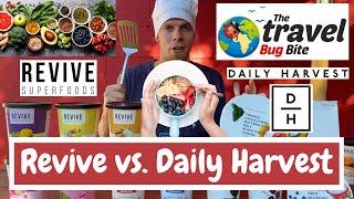 Daily Harvest vs. Revive: Meal Kit Comparison