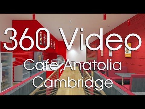 360 Cafe Anatolia Cambridge Store concept.