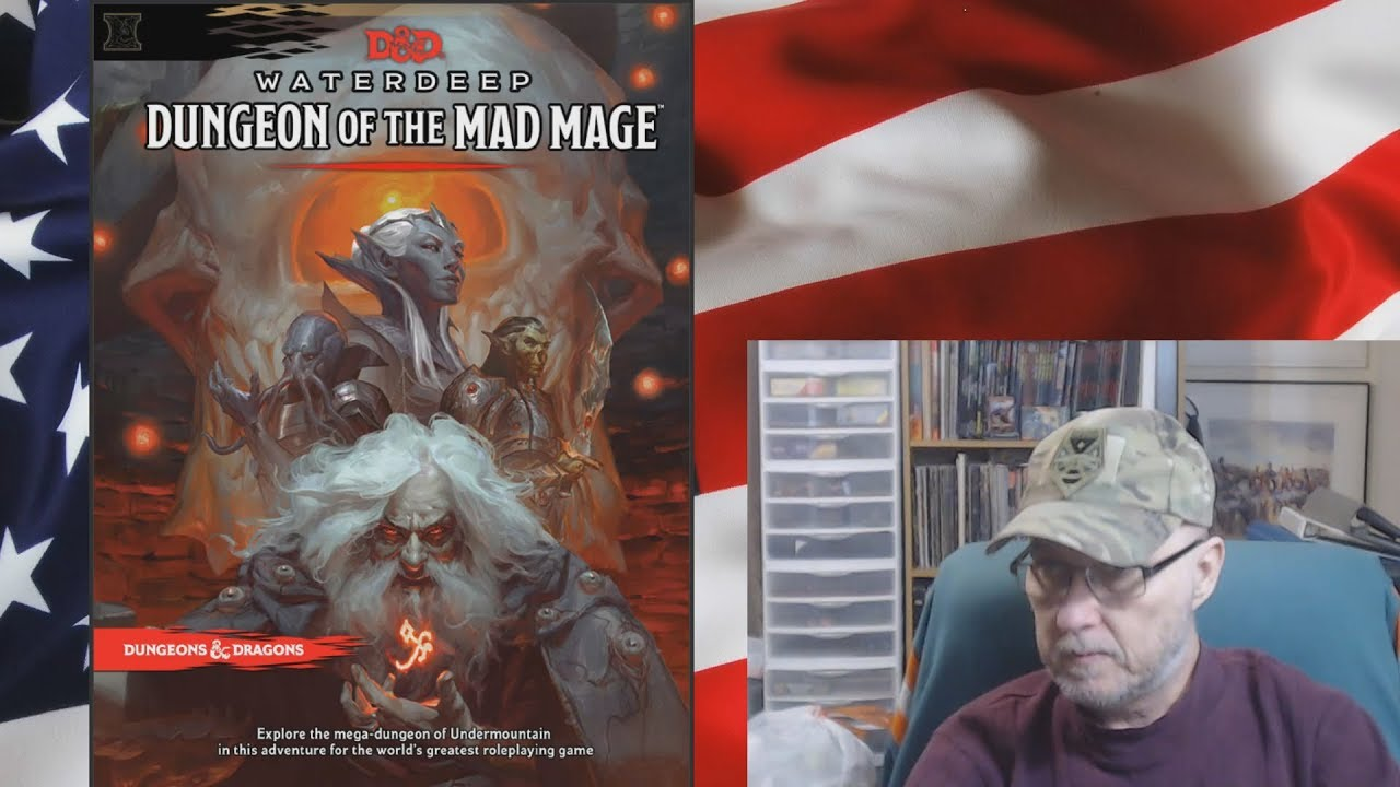 Let's Talk D&D 5e Dungeon of the Mad Mage Map Pack Failure