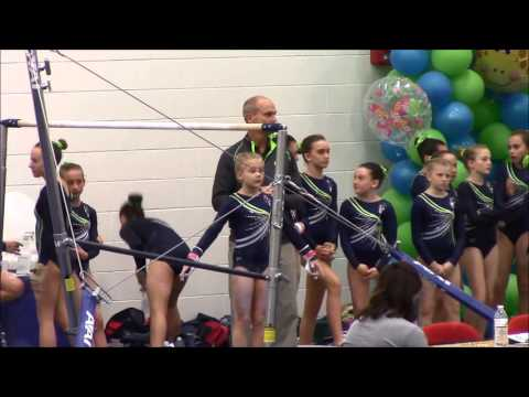 Aliz 233 Lee Usa Gymnastics Level 7 Regionals Bars Routine