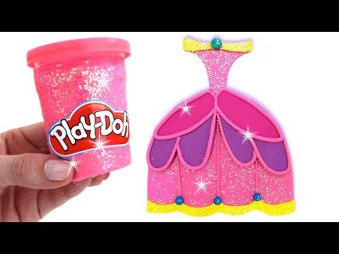 Thumbnail: Learn Colors Play Doh Making Colorful Disney Princess Dress Surprise Toys