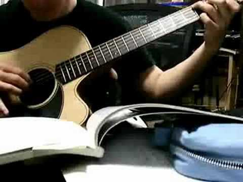 how to play amazing grace on acoustic guitar