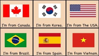 Countries Song Where Are You From (No Monologue)