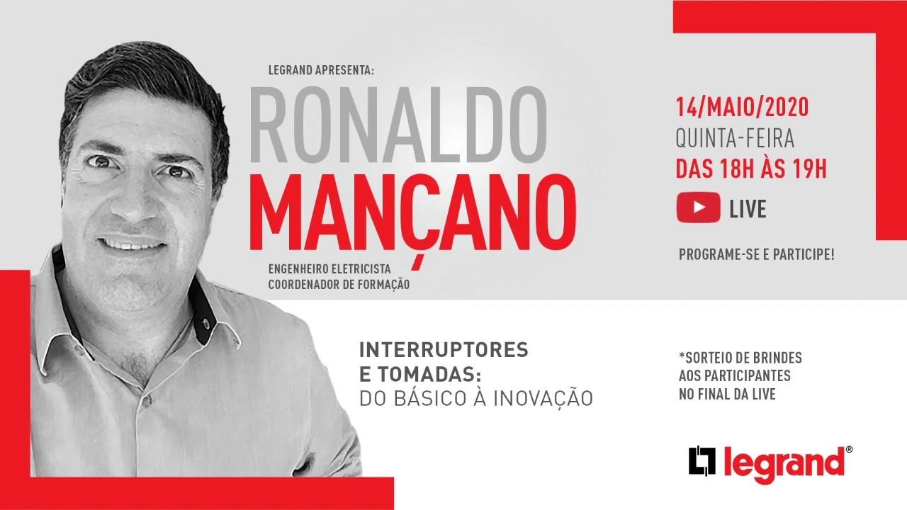Soluções de Interruptores e tomadas Legrand |  Live com Ronaldo Mançano