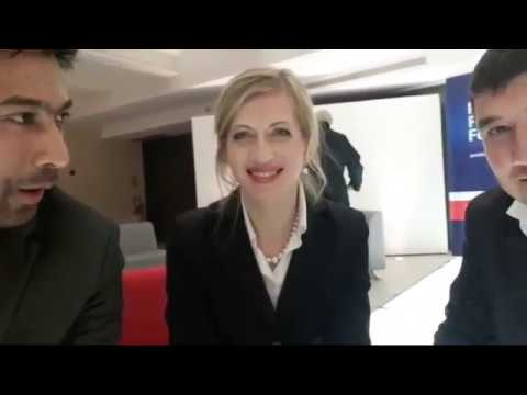 #THE BLOCKCHAINS TV SHOW, with Olga FELDMEIER & Pavel KRAVCHENKO @ Paris FinTech Forum 2018