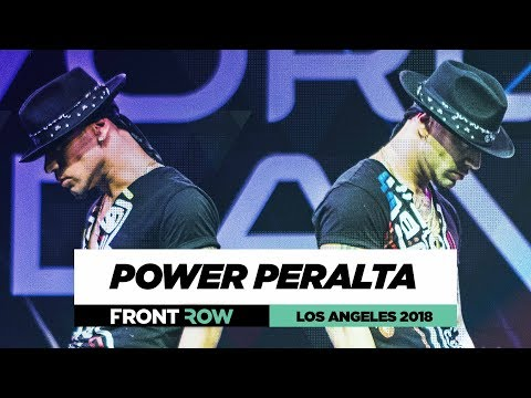 Power Peralta Twins | FrontRow | World of Dance Los Angeles 2018 | #WODLA18