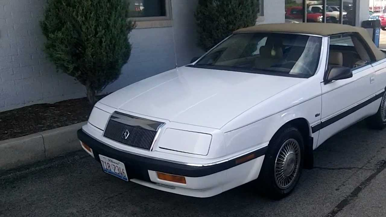 1992 chrysler lebaron sedan