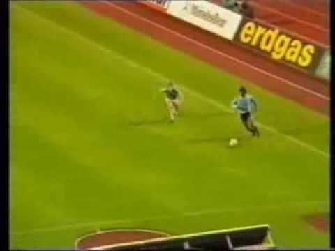 Pisada de Ruben Pereira (gol de Ostolaza) Alemania 3 - Uruguay 3
