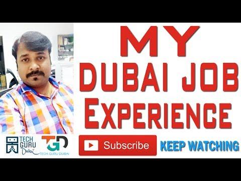 MY DUBAI JOB EXPERIENCE | HINDI URDU | TECH GURU DUBAI