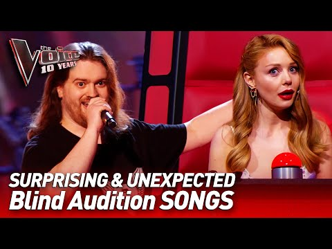 The most UNEXPECTED SONG choices in the Blind Audition of Th