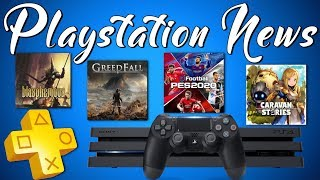 NEW PS4 Games - PS PLUS FREE Game Bonus - 2ND PS5 Confirmed (PLAYSTATION NEWS) / Видео
