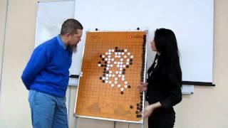 👨🏫  Обучение игре Го. Начинающие. Анализ кризисной ситуации