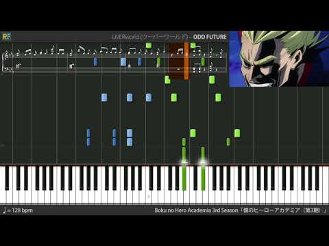 Boku No Hero Academia 3rd Season Opening 1 - ODD FUTURE (Synthesia)