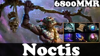 dota 2 noctis 6800 mmr plays witch doctor pub match gameplay