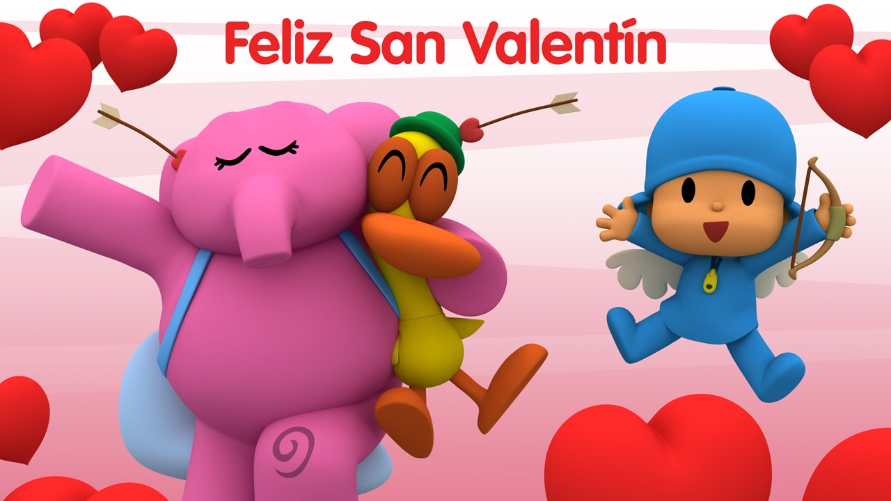 Pocoyó En Español Empaquetado San Valentín 25 Min