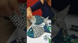 Tropical Fish Mosaic Tutorial