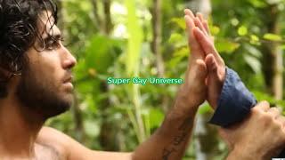 Super Gay hero a gay Movie gays in nature love strong bodies jungle gay men kissing gay kiss film