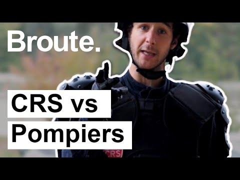 CRS Vs Pompiers - Broute - CANAL+