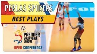 PVL OC 2018: Nicole Tiamzon drills it straight to her defender! | BKP | Best Plays