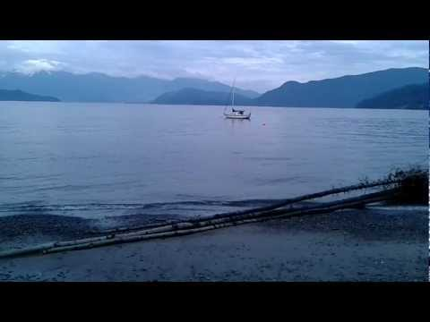 Hopkins Beach - Gibsons Sunshine Coast Canada