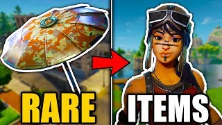 5 RAREST ITEMS in Fortnite! (Fortnite Battle Royale RARE SKINS #2)