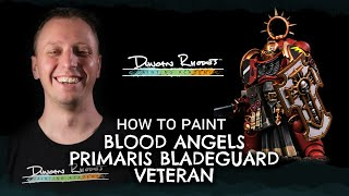 How to Paint: Blood Angels Primaris Bladeguard Veteran.