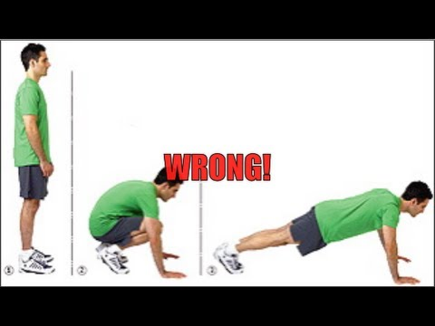 Burpee Exercise How To Do Perfect Burpees Youtube