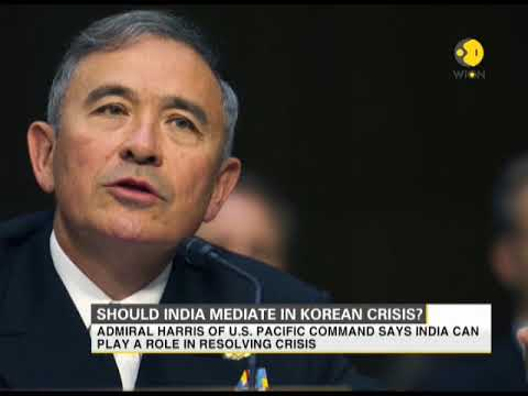 Admiral of US Pacific Command thinks India should mediate in Korean crisis