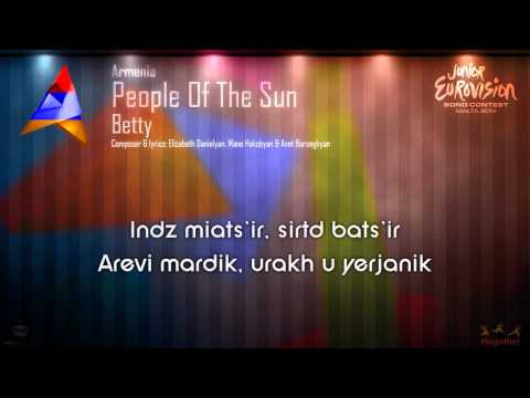 "Betty - ""People Of The Sun"" (Armenia)"
