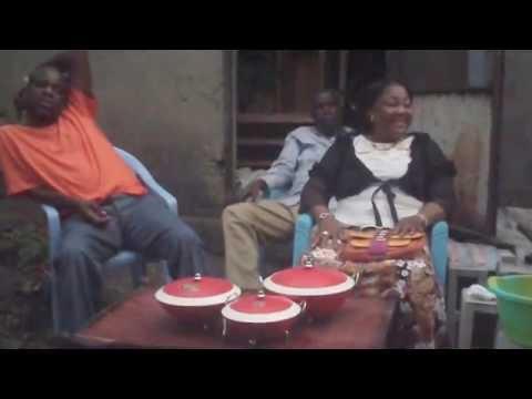 Mama Emily Sanzay Ngaye in Kinshasa, DR Congo