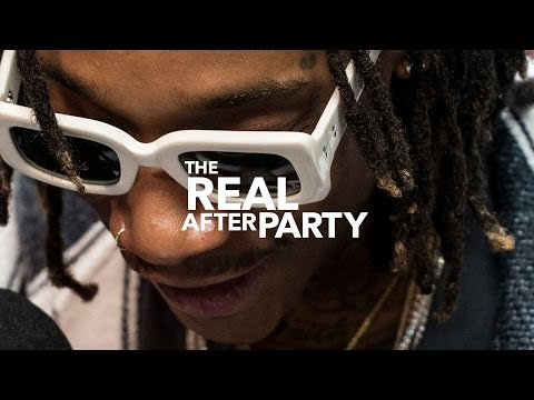 Wiz Khalifa talks about new app and album on The Real After Party