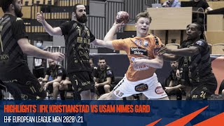 HIGHLIGHTS | IFK Kristianstad vs USAM Nimes Gard | Round 10 | EHF European League Men 2020/21