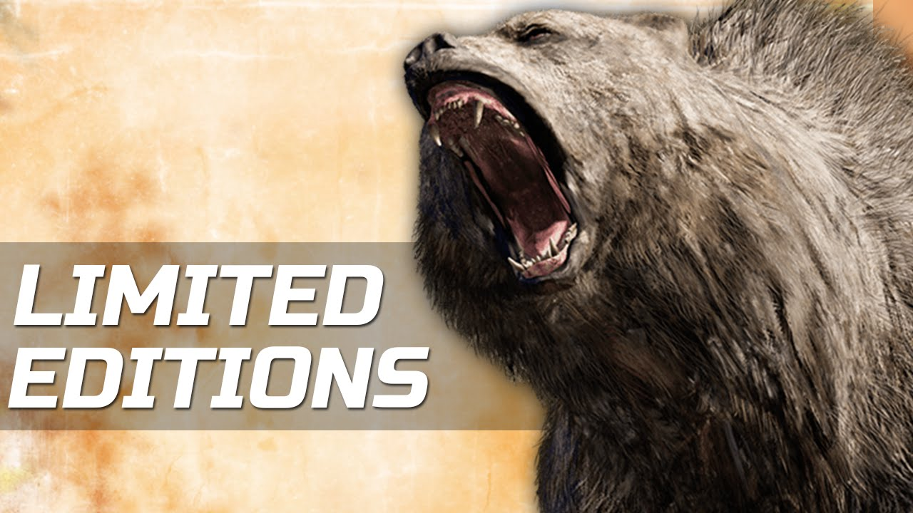 Far Cry Primal List Of Animals Limited Editions More Youtube