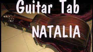 Guitar tab - Natalia