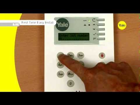 yale how to install a yale alarm system youtube. Black Bedroom Furniture Sets. Home Design Ideas