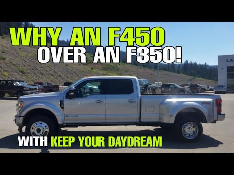 2019 Ford F350 Vs F450 For Towing A Toy Hauler Rv Keep Your Daydream Kyd And Btbrv Youtube