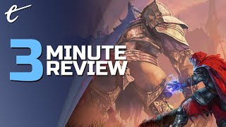 Eldest Souls | Review in 3 Minutes (Video Game Video Review)