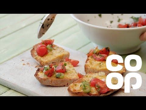 Co-op Food | Vegetarian Mexican Rarebit