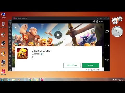 How to Download & Install Clash of Clans in PC 2017-2018 FREE (Windows 7/8/8.1/10)
