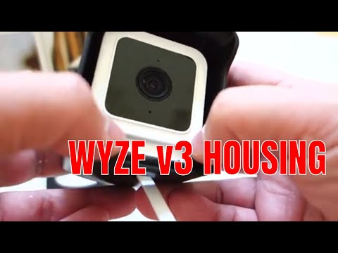 WYZE CAMERA V3 Outdoor weatherproofing case and mount