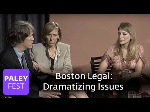 Boston Legal  David E. Kelley on Dramatizing Issues Paley Center, 2006